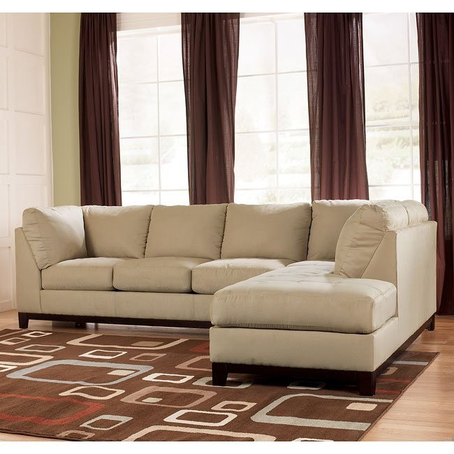 Fusion - Khaki Right Corner Chaise Sectional