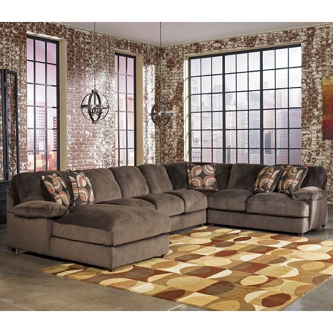 Truscotti - Cafe Left Chaise Sectional w/ Armless Sofa