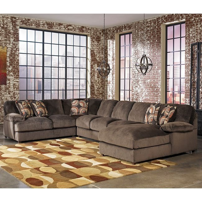 Truscotti - Cafe Right Chaise Sectional w/ Armless Sofa
