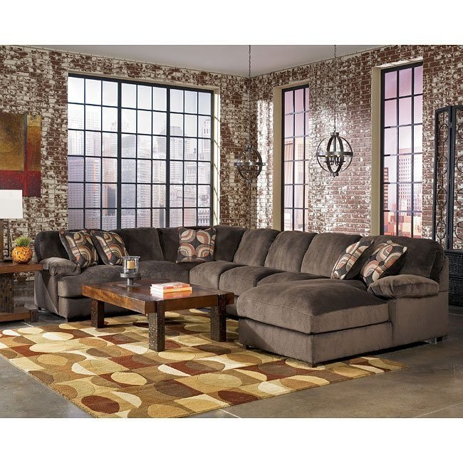 Truscotti - Cafe Large Chaise Sectional Set