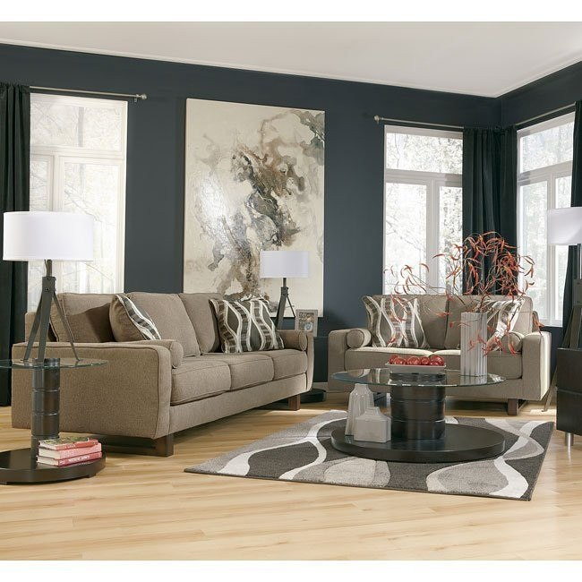 Treylan Smoke Living Room Set
