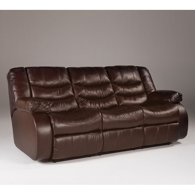 Revolution - Burgundy Reclining Sofa