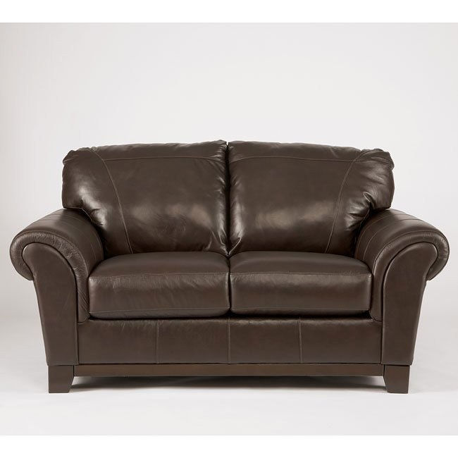 Deasil Brown Loveseat