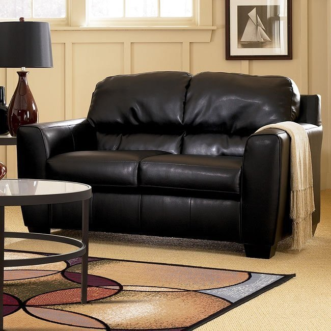 DuraBlend - Onyx Loveseat