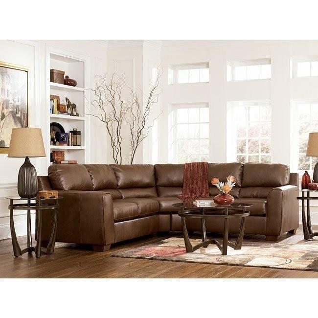 DuraBlend - Bark Sectional Living Room Set