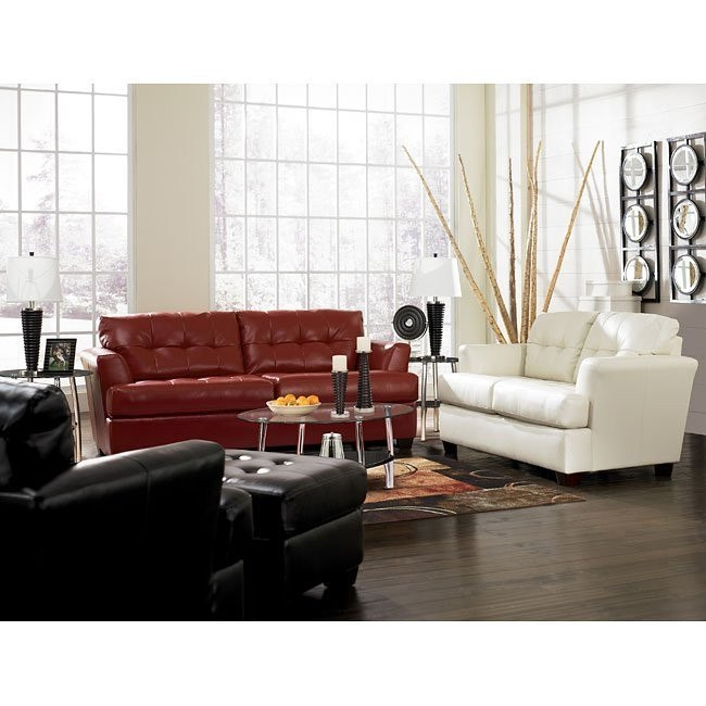 DuraBlend - Mixed Colors Living Room Set