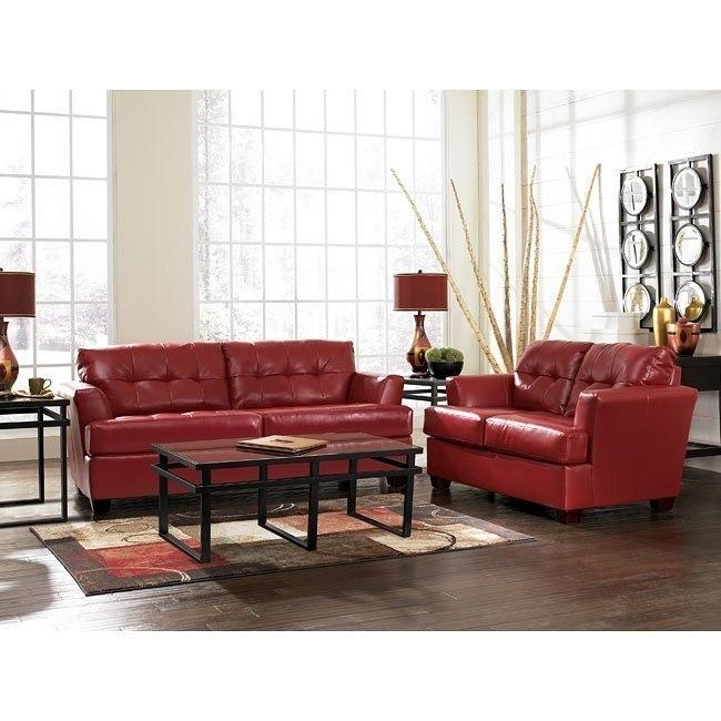 DuraBlend - Scarlett Living Room Set