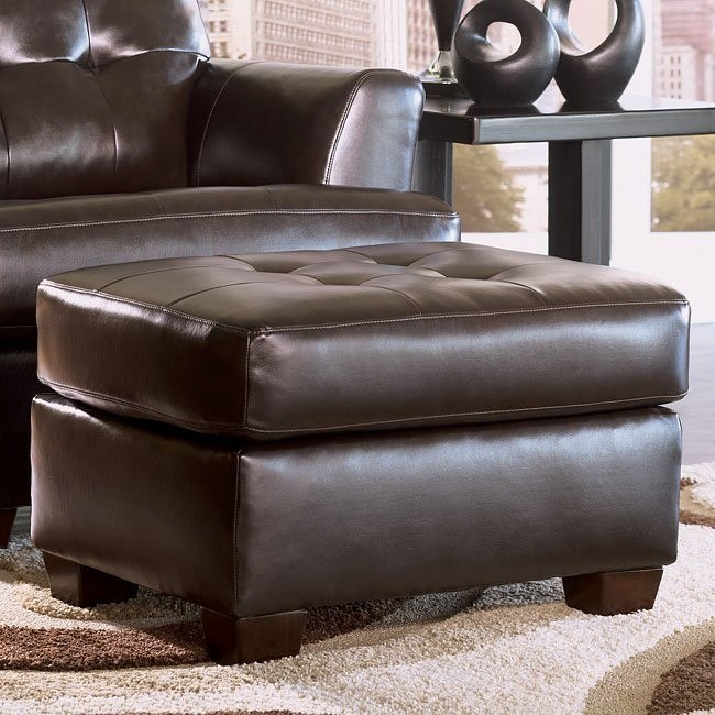 DuraBlend - Chocolate Ottoman