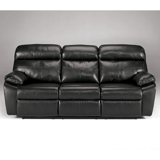 Sander Durablend - Charcoal Reclining Sofa