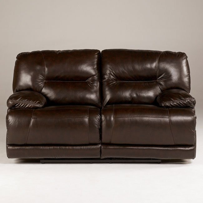 Bromley - Brown Reclining Loveseat