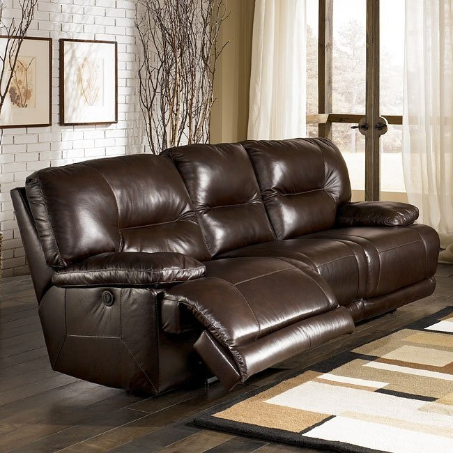 Bromley - Brown Reclining Sofa w/ Power