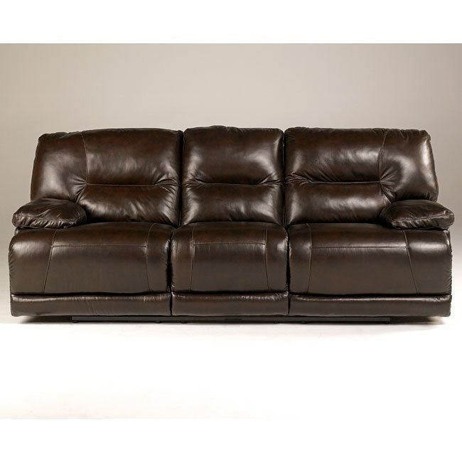 Bromley - Brown Reclining Sofa