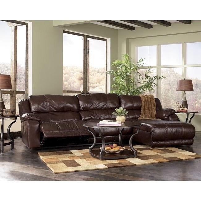 Braxton - Java 3-Piece Sectional Living Room Set
