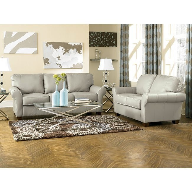 Sasha - Graphite Living Room Set