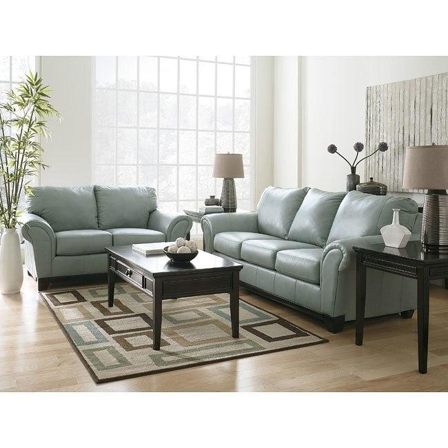 Allendale - Mist Living Room Set