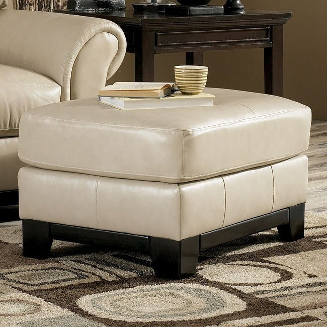 Allendale - Oyster Ottoman