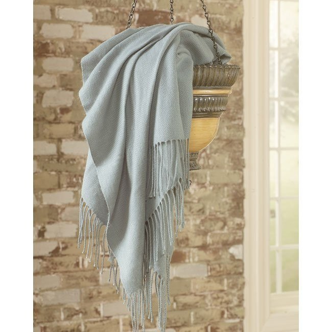 Ashton - Aqua Decorative Throw (Set of 3)
