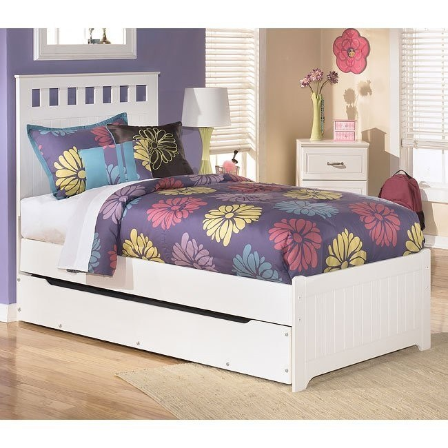Lulu Panel Bed w/ Trundle