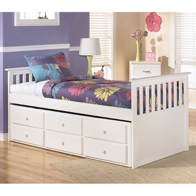 Lulu Trundle Storage Bed (Twin)