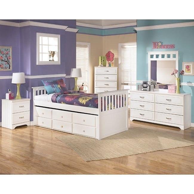 Lulu Trundle Storage Bedroom Set