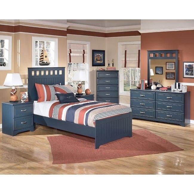 Leo Panel Bedroom Set