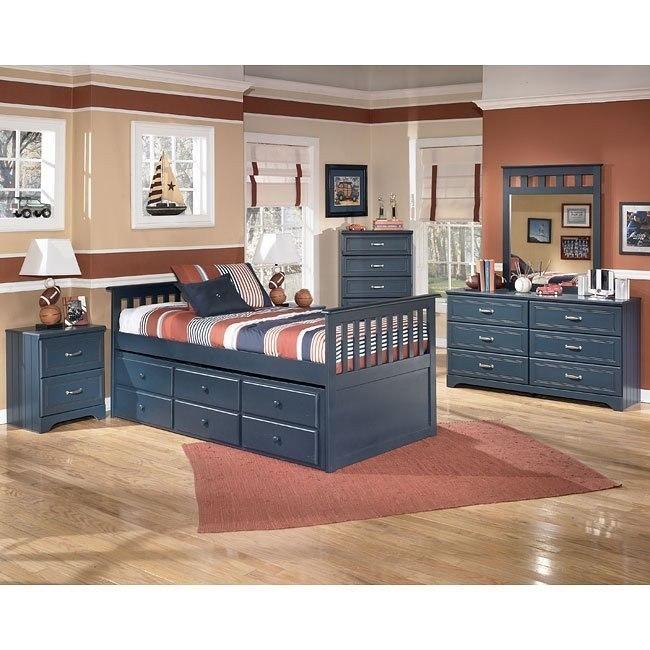 Leo Trundle Storage Bedroom Set