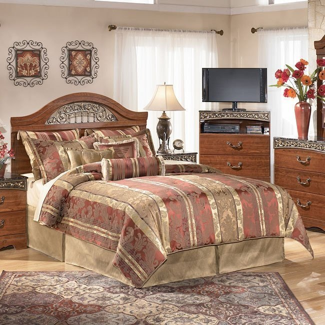Fairbrooks Estate Queen/ Full Panel Bed (Headboard Only)