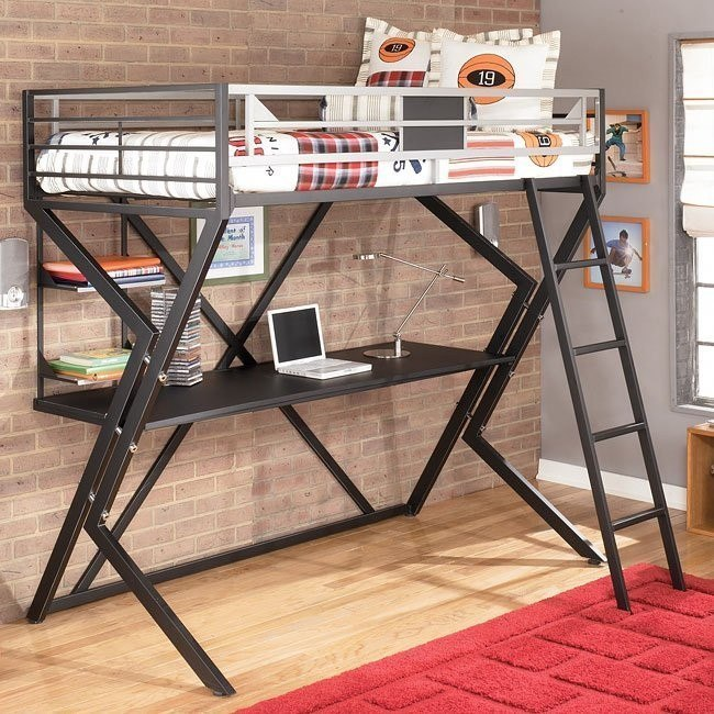 Dinsmore Twin/ Desk Loft Bed