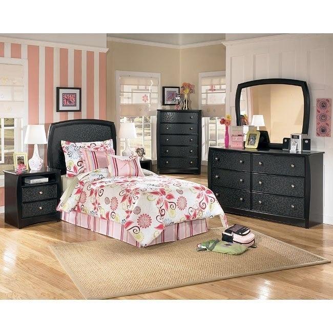 Enchanted Glade Headboard Bedroom Set