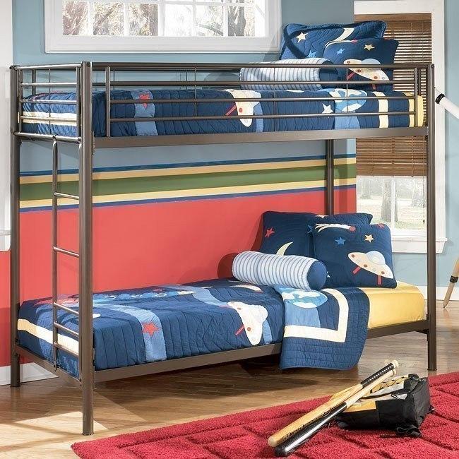 Benjamin Twin/Twin Metal Bunk Bed