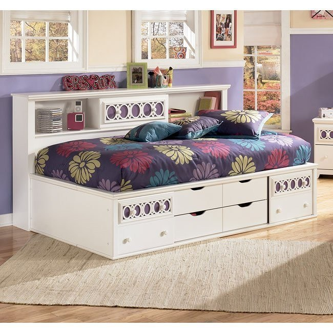 Zayley Bookcase Bed