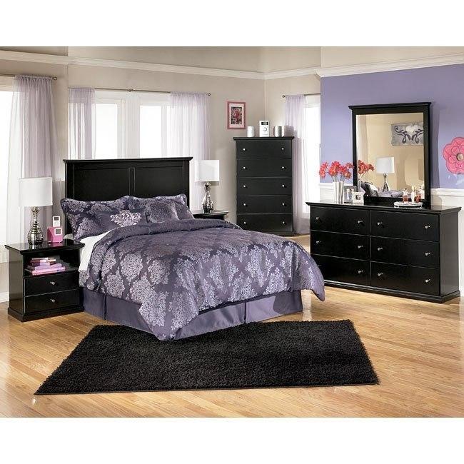 Maribel Youth Headboard Bedroom Set