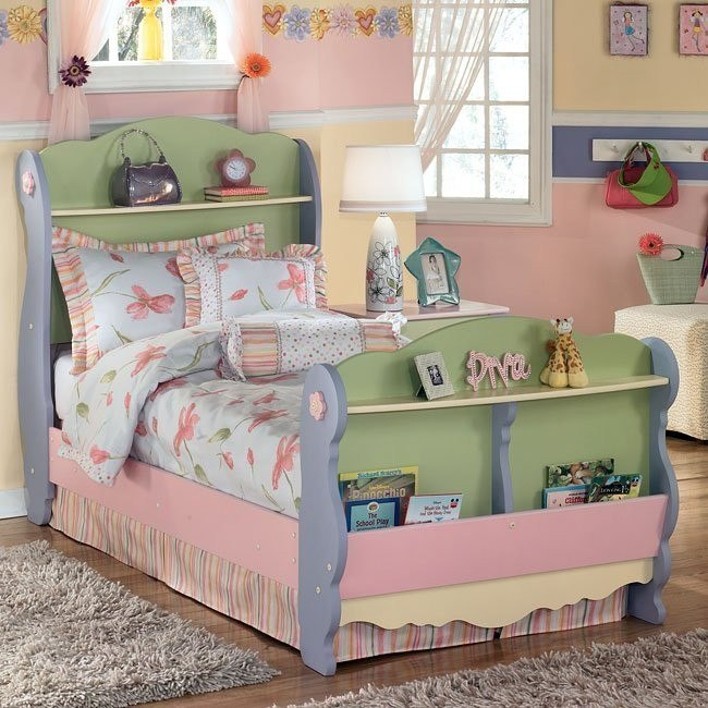 Doll House Sleigh Bed