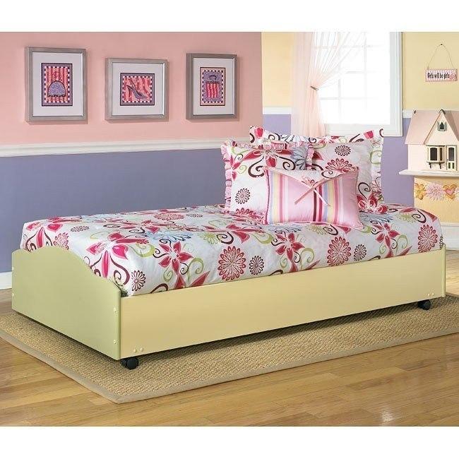 Doll House Twin Lower Loft Bed w/ Casters