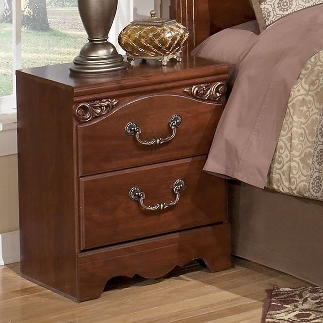 Treasureland Two Drawer Night Stand