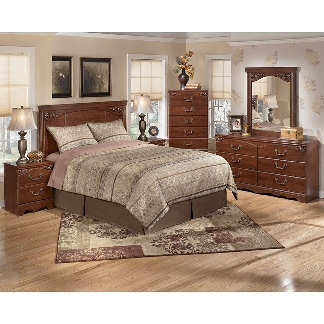 Treasureland Headboard Bedroom Set