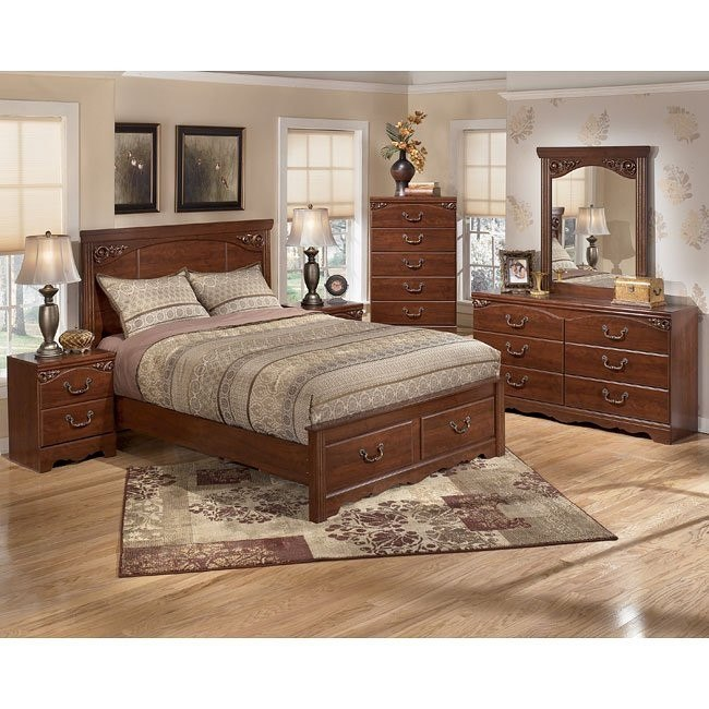 Treasureland Storage Bedroom Set