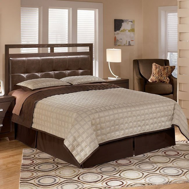 Aleydis Rail-Top Bed (Headboard Only)