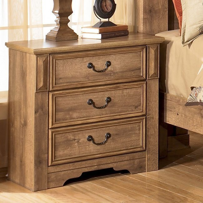 Whimbrel Forge Three Drawer Night Stand
