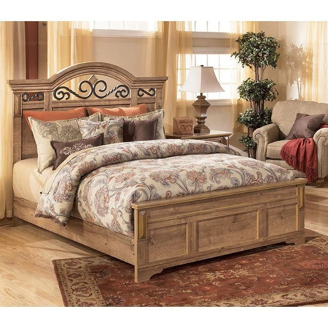 Whimbrel Forge Panel Bed (Queen)