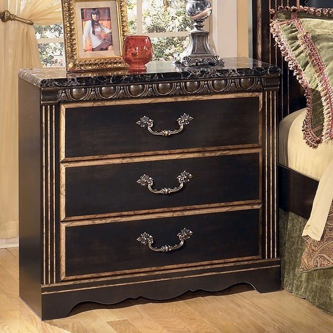 Coal Creek Three Drawer Night Stand
