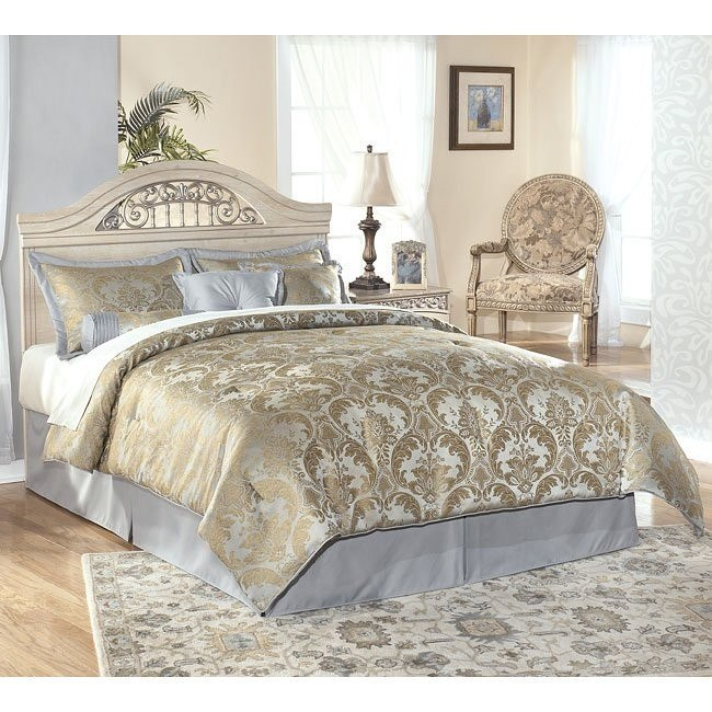 Catalina Queen/Full Panel Bed (Headboard Only)