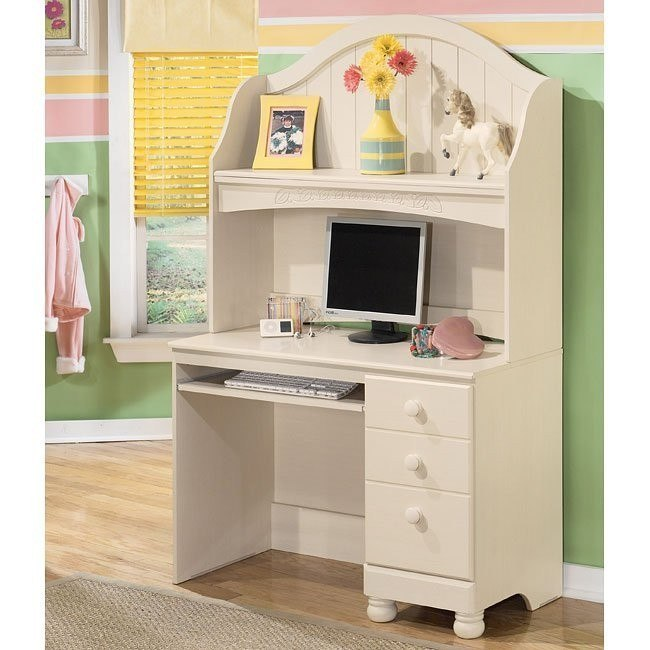 Cottage Retreat Desk with Hutch