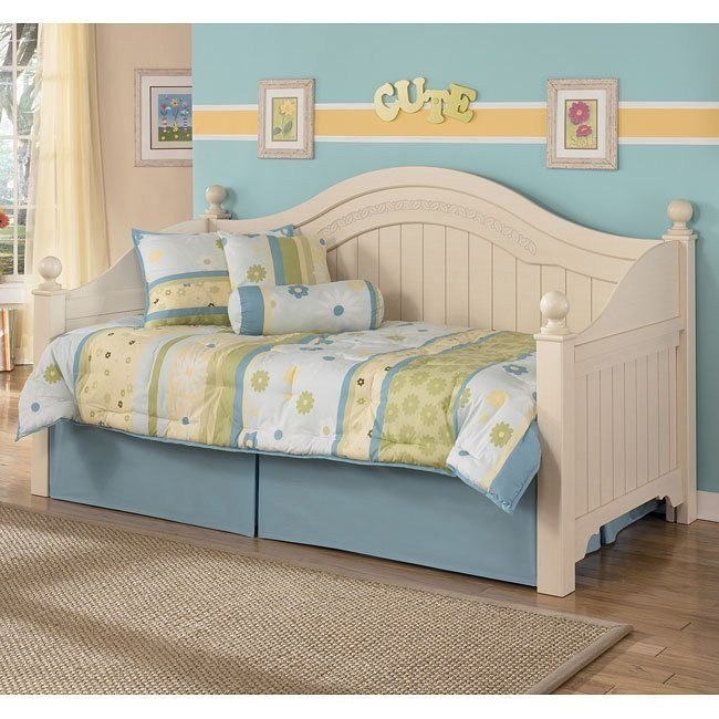 Cottage retreat day bed bedroom set by signature design by - Cottage retreat bedroom furniture ...