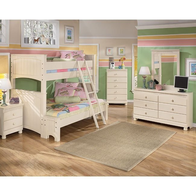 Cottage Retreat Bunk Bed Bedroom Set