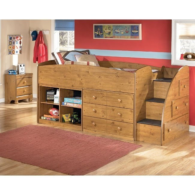 Stages Storage Loft Bedroom Set