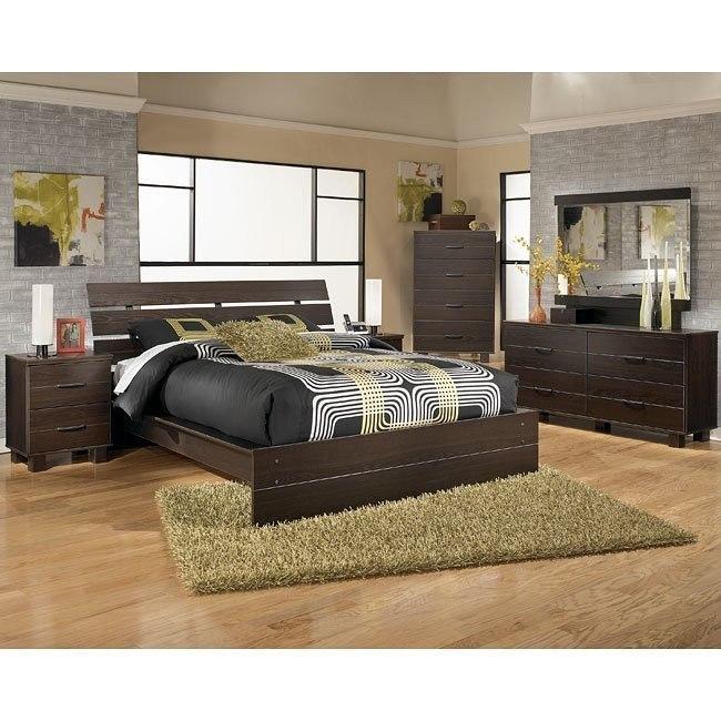 Edmonton Platform Bedroom Set