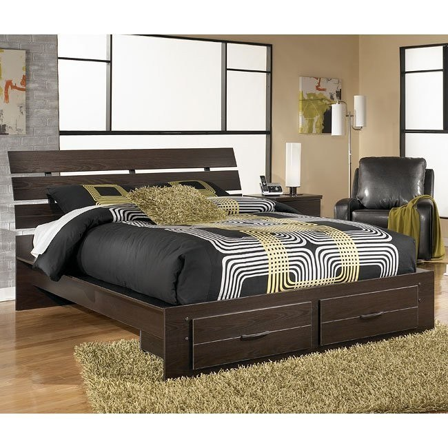 Edmonton Platform Storage Bed