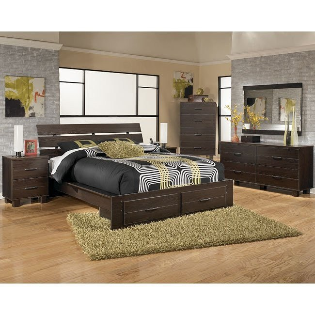 Edmonton Platform Storage Bedroom Set