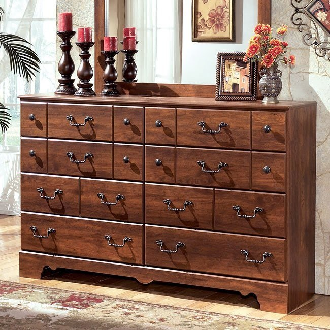 Timberline Eight Drawer Dresser